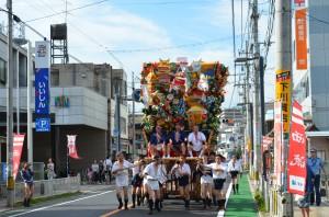 追い山パレード