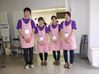 新入職員がボランティアで参加しました。_R